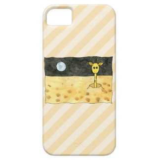 Giraffe on the Moon. iPhone 5 Cover