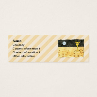 Giraffe on the Moon. Mini Business Card