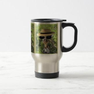 Giraffe on Vacation Travel Mug