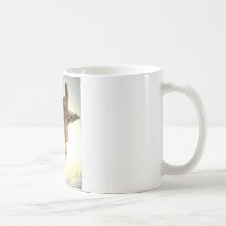 Giraffe orig -zaz basic white mug