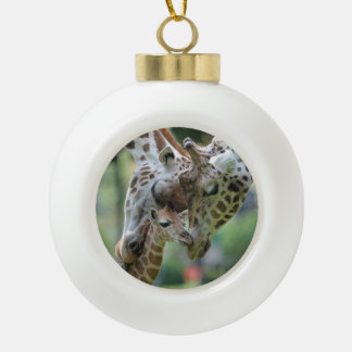 Giraffe Ornament template