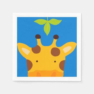 Giraffe Paper Napkin