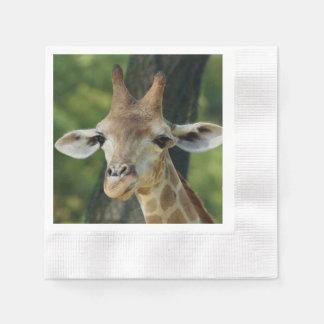 Giraffe Paper Napkins
