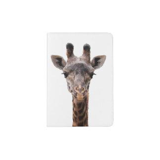 Giraffe passport holder