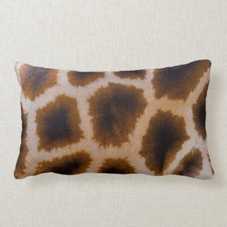 Giraffe Patches Spotted Skin Texture Template Cushion