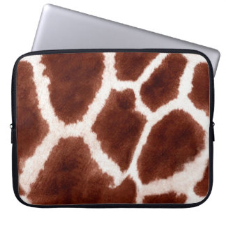Giraffe Pattern Animal Print Laptop Computer Sleeves