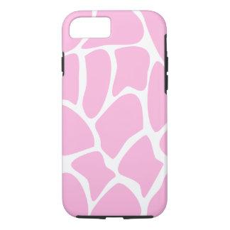 Giraffe Pattern in Candy Pink. iPhone 8/7 Case