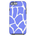 Giraffe Pattern in Cornflower Blue. iPhone 6 Case