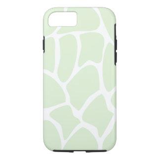 Giraffe Pattern in Mint Green. iPhone 8/7 Case