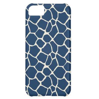 Giraffe Pattern iPhone 5 Case-Mate Case (navy)
