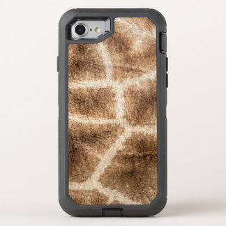 Giraffe pattern OtterBox defender iPhone 8/7 case