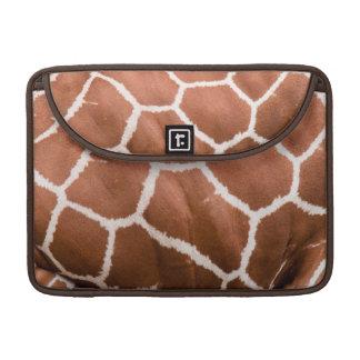 Giraffe pattern sleeve for MacBook pro