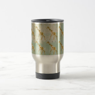 Giraffe Pattern Travel Mug