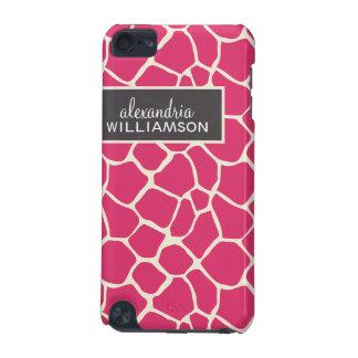 Giraffe Pern (fuchsia) iPod Touch (5th Generation) Covers