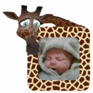 Giraffe Photo Frame Standing Photo Sculpture