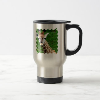 Giraffe Photo Stainless Mug