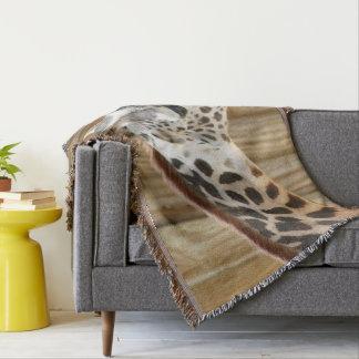 Giraffe Picture Throw Blanket