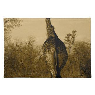 Giraffe Place Mat
