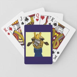 Giraffe Playing Cardss Poker Deck