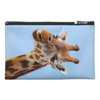 Giraffe Portrait accessory bags