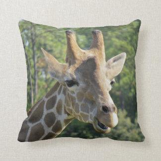 Giraffe Portrait Cushion