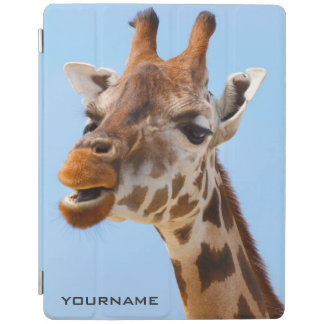 Giraffe Portrait custom device covers iPad Cover
