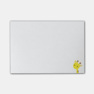 Giraffe Post-it Notes