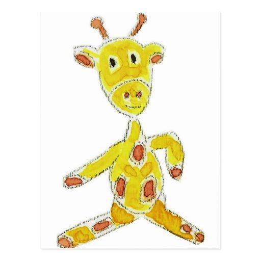 Giraffe Post Card
