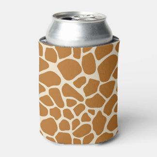 Giraffe Print Can Cooler