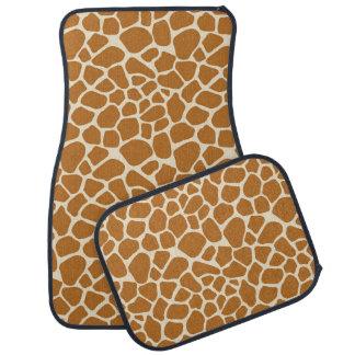 Giraffe Print Car Mat Set