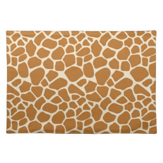Giraffe Print Cloth Placemat