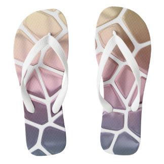 Giraffe Print Flip Flops
