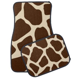 Giraffe Print Floor Mat