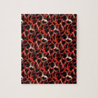 Giraffe Print Jigsaw Puzzle