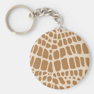 Giraffe Print Key Chains