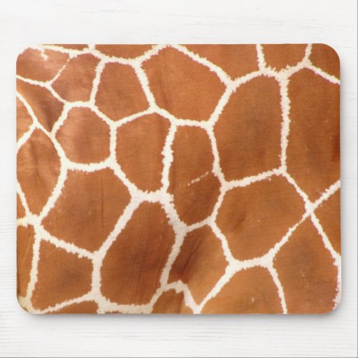 Giraffe Print Mouse Pads