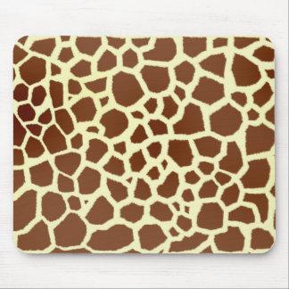 Giraffe Print Mousepad