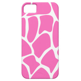 Giraffe Print Pattern in Bright Pink. Case For The iPhone 5