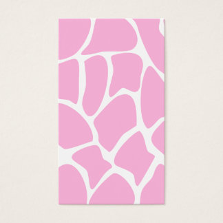 Giraffe Print Pattern in Candy Pink.