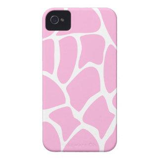Giraffe Print Pattern in Candy Pink. iPhone 4 Case