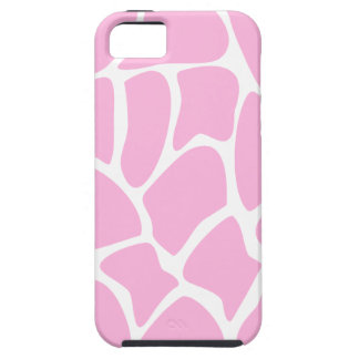 Giraffe Print Pattern in Candy Pink. iPhone 5 Covers