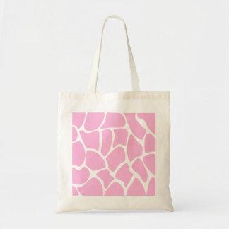 Giraffe Print Pattern in Candy Pink. Tote Bag
