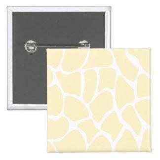 Giraffe Print Pattern in Cream Color. Pin