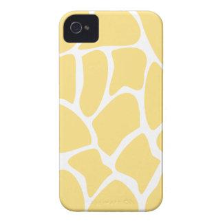 Giraffe Print Pattern in Yellow. iPhone 4 Case-Mate Case