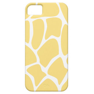 Giraffe Print Pattern in Yellow. iPhone 5 Cover