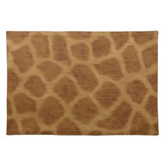 Giraffe Print Placemat
