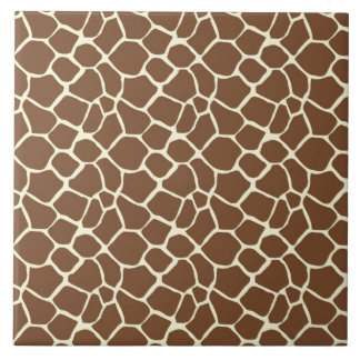 Giraffe Print Tile
