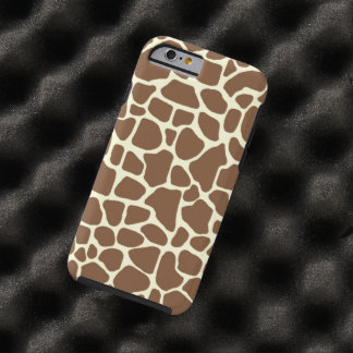 Giraffe print tough iPhone 6 case
