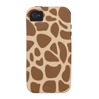 Giraffe Print Wild Animal Patterns Gifts for Her iPhone 4/4S Cover