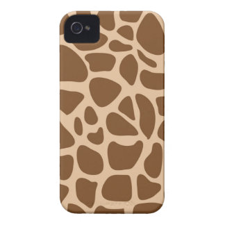 Giraffe Print Wild Animal Patterns Gifts for Her iPhone 4 Case